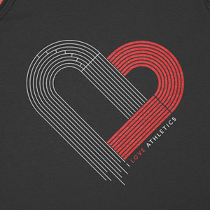I love Athletics tshirt Product Design byValle Thumbnail Jorge Valle